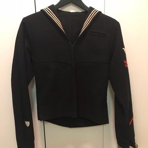 1940s vintage sailor pullover authentic US NAVY